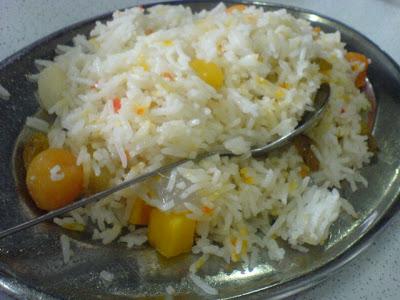 Tandoori Restaurant, kashmiri pulao