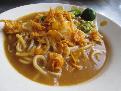 Johor Bahru, Selera Johor, mee rebus stulang