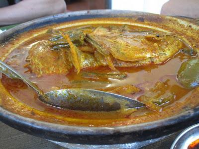 Samy's Curry Restaurant, fish head curry