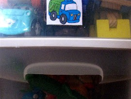 Labels: Making Toy Pick Up Easier