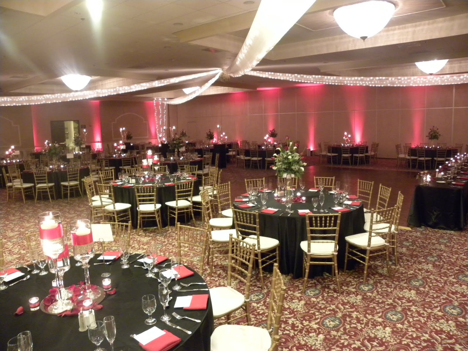 Pacific Hills Banquet & Catering Blog: Black and Red