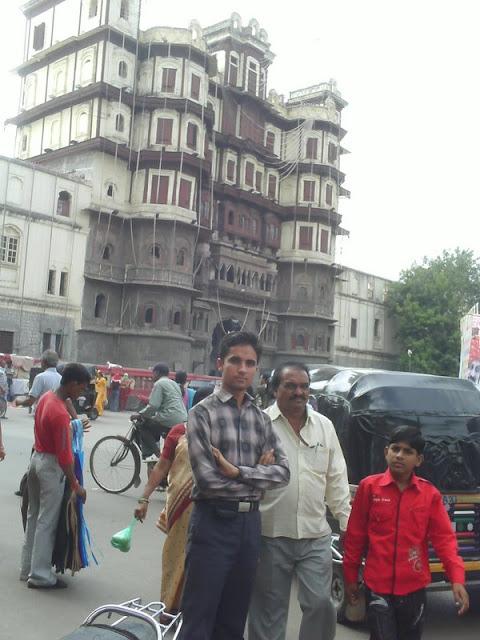 इन्दौर में ब्लॉगर ताऊ से मुलाकात