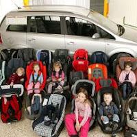 Multas por no llevar un dispositivo de retención infantil homologado