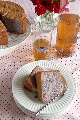Rumah Manis : Purple Yam (Ubee) Chiffon Cake