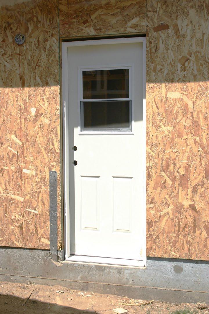 Door With Window Garage Side