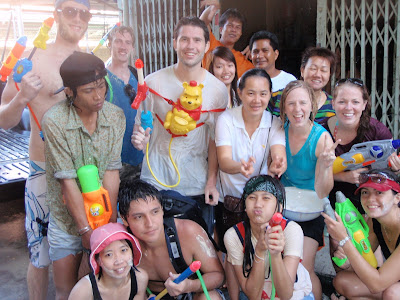 Songkran comrades, courtesy of Cory Goodwin