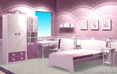 Hari Ni Ada E Mel Dari Froxi Beberapa Gambar Bilik Tidur Anak Gadis Cantik Jugak Boleh Buat Rujukan Untuk Hiasan Dan Susunan Dara Abah Bila