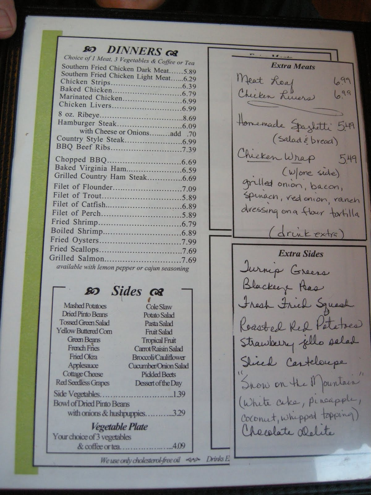 Family Style Restaurant Chains