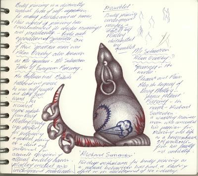 EUGENE HŐN : CERAMIC ARTIST: Ballpoint Pen Drawings ...