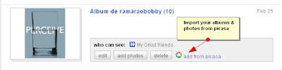 Add Your Photos and Albums from Picasa to Orkut