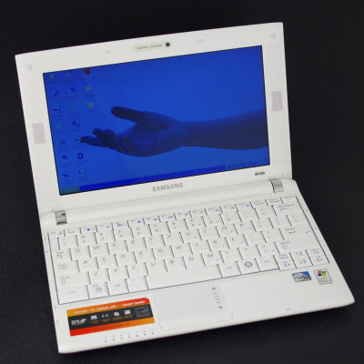 Samsung N120 laptop overview
