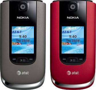 Nokia 6350 folding 3G phone from AT&T