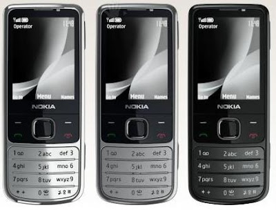 Nokia 6700 Classic- Silver metallic_Matte metallic_Black metallic colors