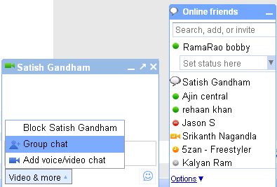 Orkut Group Chat feature in video & more