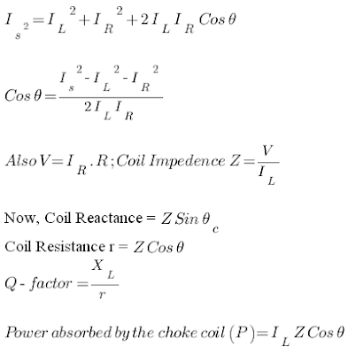 3-Ammeter-Method-formula-for-finding-q-factor-coil-impedence-resistance-reactance-and-power-absorbed-by-choke-coil