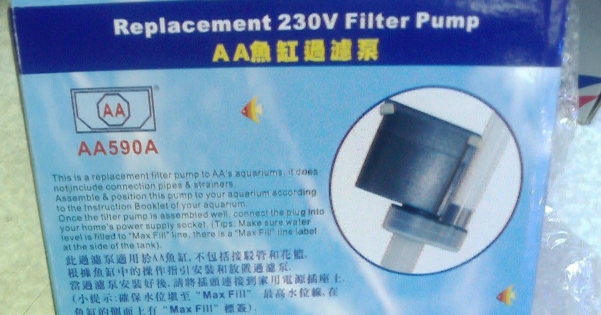 220v Aa590a Aa Aquarium Replacement Water Pump