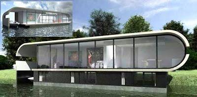 Arquitectura de casas casas modernas flotantes en europa for Casa ultramoderna