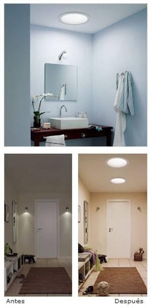Arquitectura de casas luz natural en interiores de viviendas - Casas de iluminacion ...