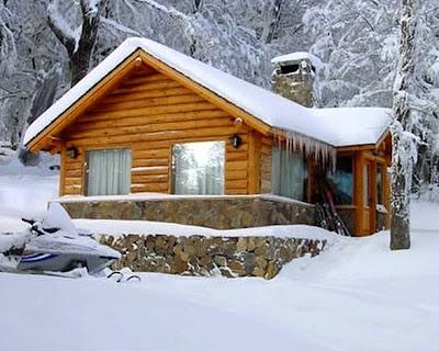 Arquitectura de casas una casa de madera en la monta a - Casas en la montana ...