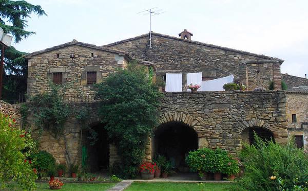 Masía en Girona, Cataluña. España