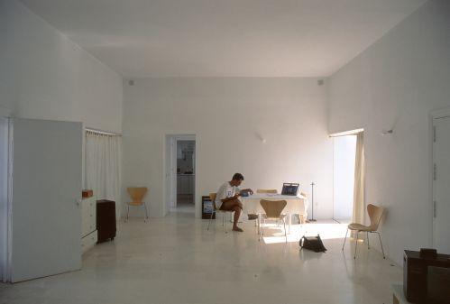 Interior de una casa Minimalista en Zahora, Cádiz, España