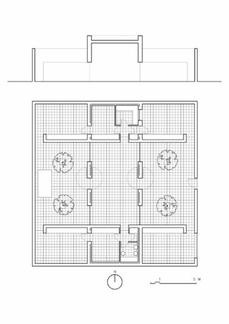 Planos de una casa Minimalista en España