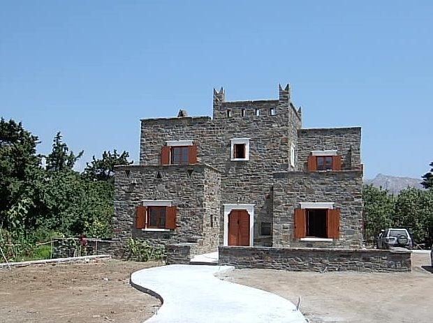Casa de piedra en Naxos