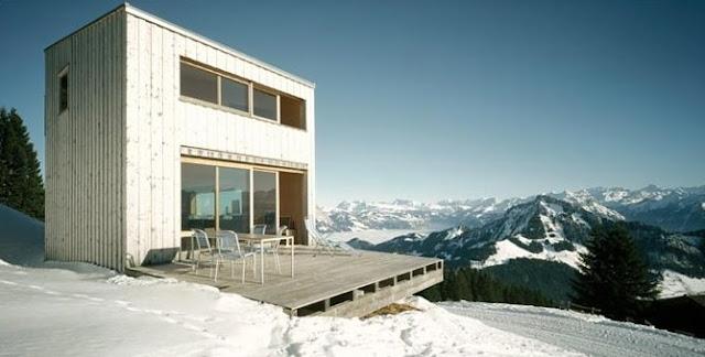 Chalet suizo de estilo Contemporáneo en Suiza