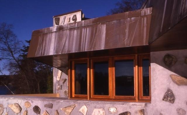 Detalle de diseño de un sector de la Casa Massaro