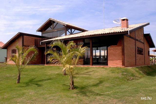 Casa contemporánea tipo chalet