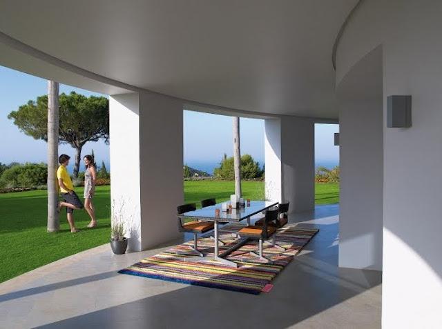 Arquitectura de casas alfombras exteriores - Alfombras para casas ...