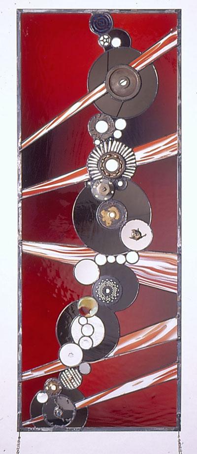 Objeto decorativo arte en vidrio