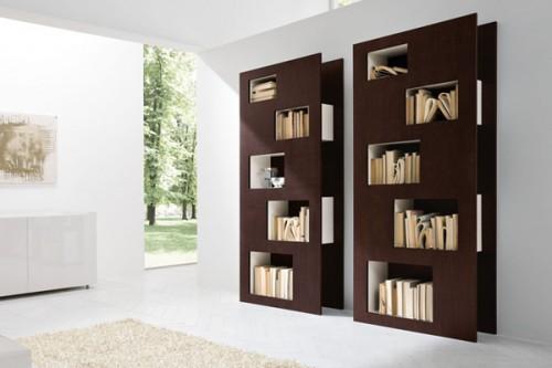 Arquitectura de casas estanter as de dise o moderno para - Bauhaus estanterias ...