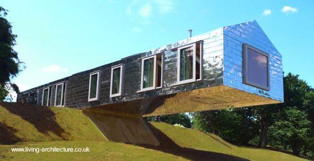 Casa de arquitectura moderna
