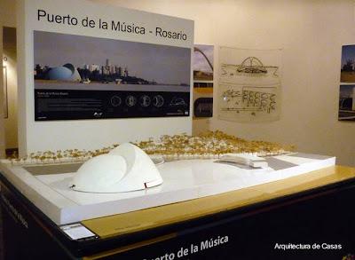 Puerto de la Música - Rosario - Diseño de Oscar Niemeyer