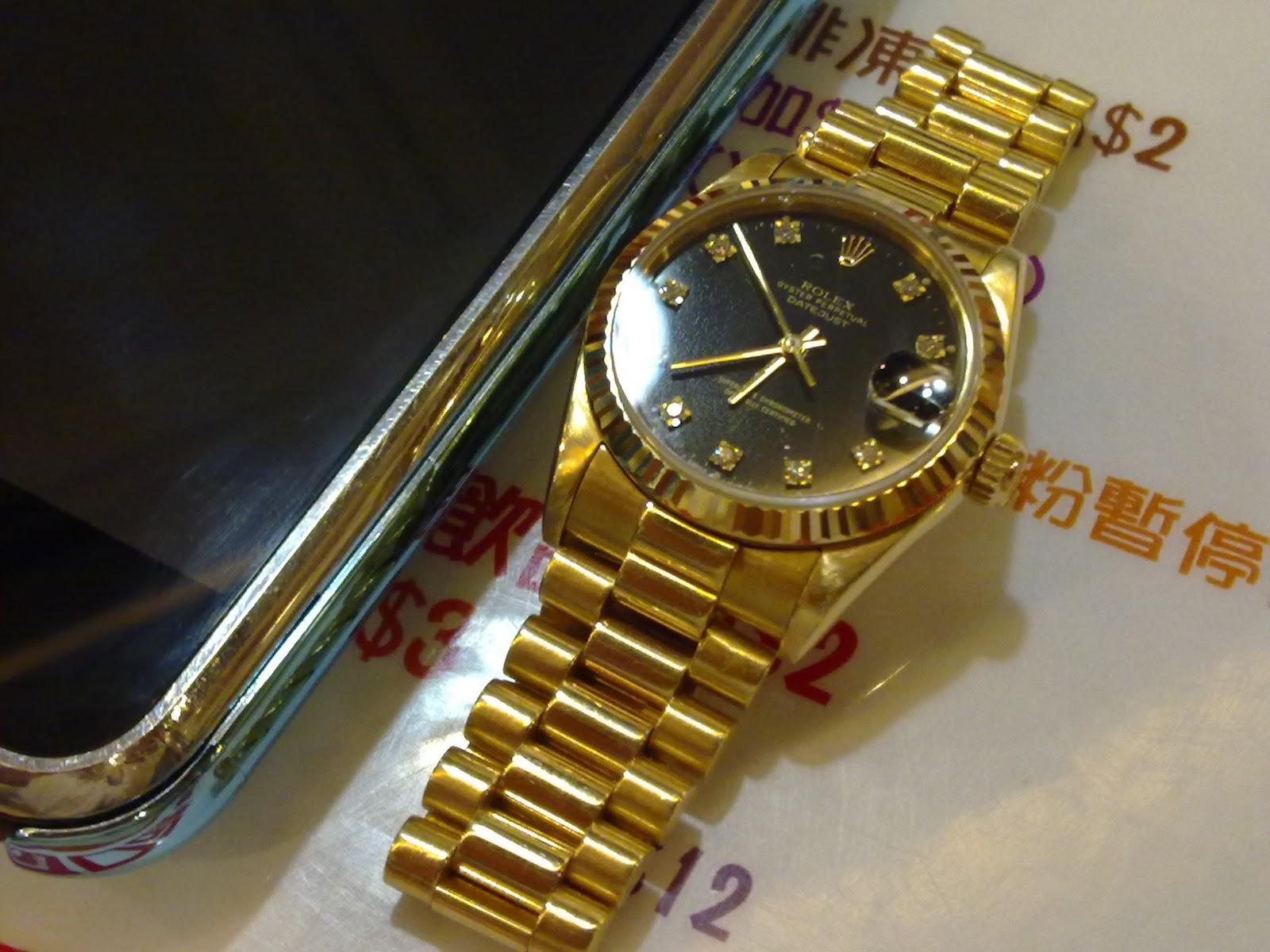 Hong Kong Watch Fever 香港勞友: Rolex Ref.68278 Boy Size ...