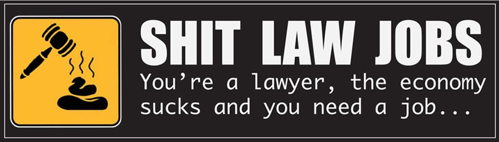 when the recession hits lawyers... again.