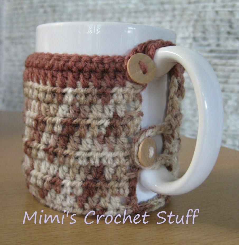 Crochet and Other Stuff: Crochet a Mug Cozy - free pattern