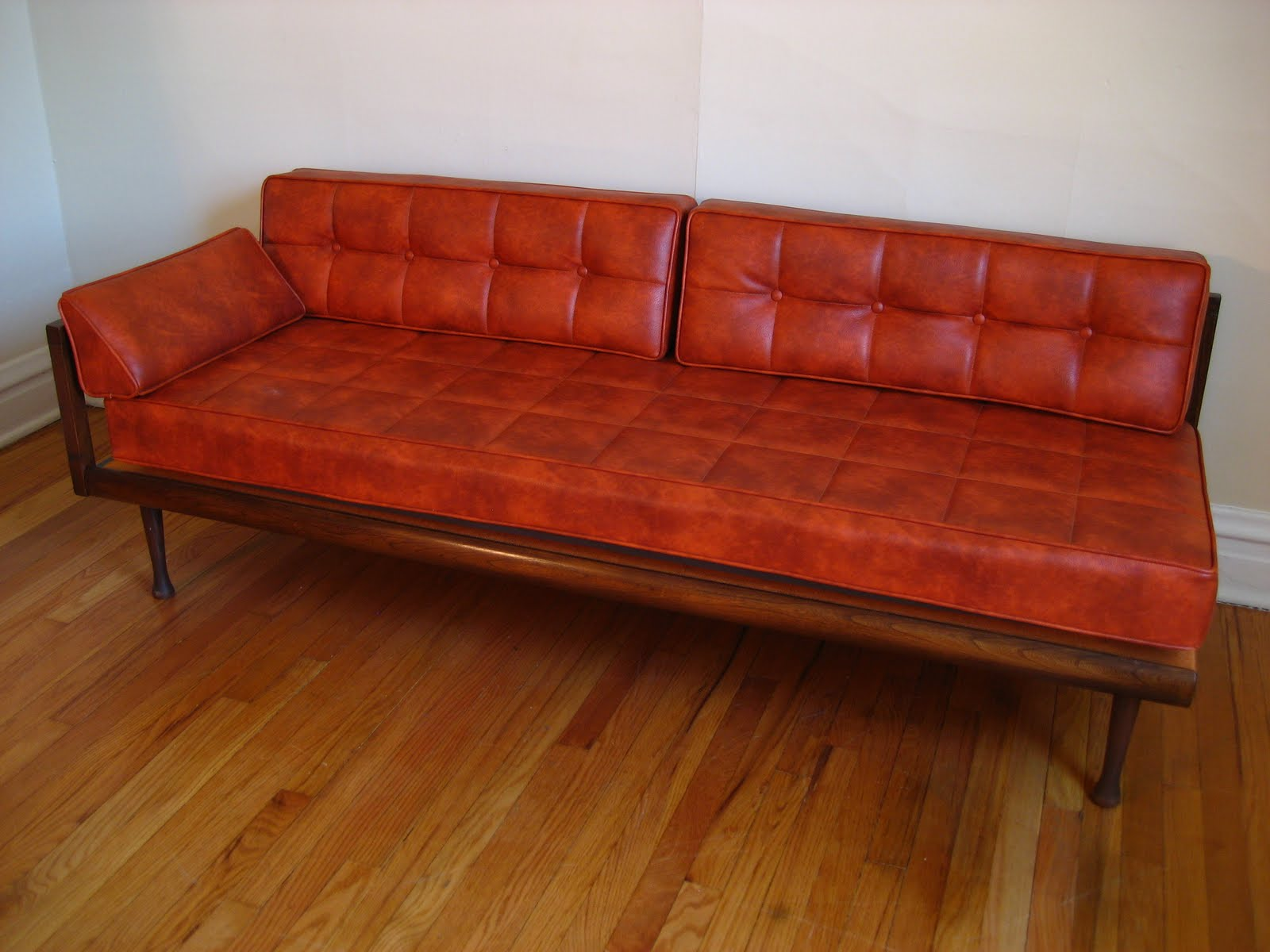 Daybed Sofas Enzo Corner Sofa Bed Grey Flatout Design Mid Century