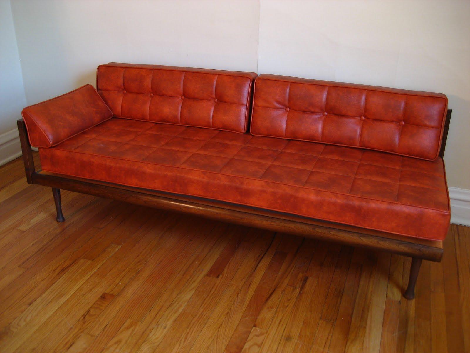 flatout design: Mid Century Sofa/Daybed