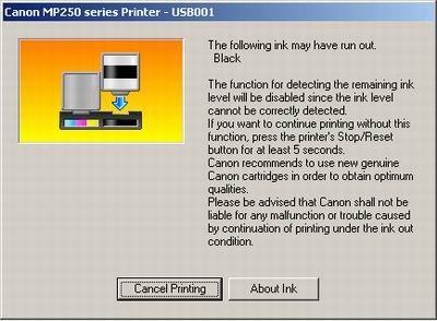 Computer And Gadget Canon Ip2770 13x Orange Blink