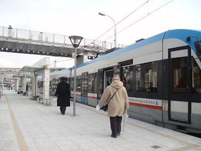 Стамбул, как добраться в центр на общественном транспорте из аэропорта