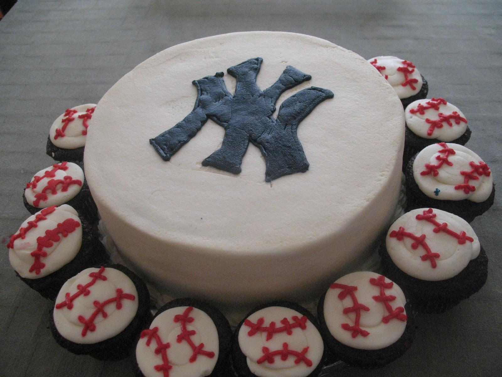 Yankees Cupcake Cake Cake Ideas And Designs