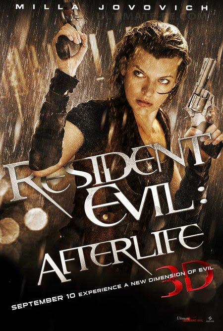 Resident Evil 4 Traile... Milla Jovovich Resident Evil Movie