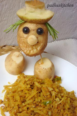 potato food art
