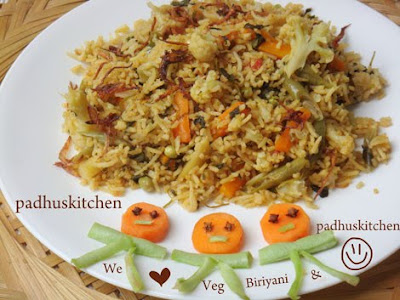 Vegetable biryani vegetable biryani recipe how to prepare vegetable biryani forumfinder Choice Image