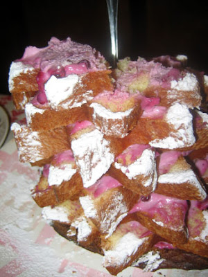 What causes gustatory infidelity (Lingonberry cake)