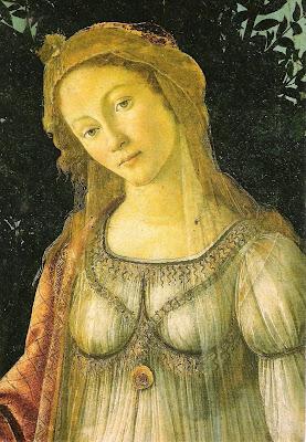 Venus Postcard  via Uffizi, florence, Italy as seen on linenandlavender.net:  http://www.linenandlavender.net/2009/08/paris-is-mad.html
