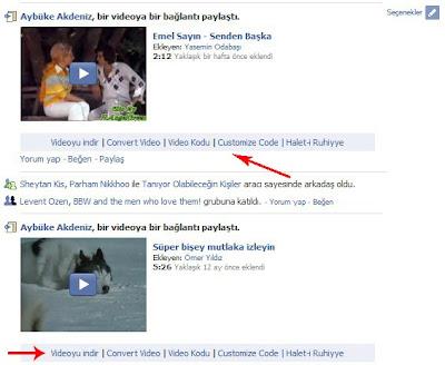 Facebooktan video indir