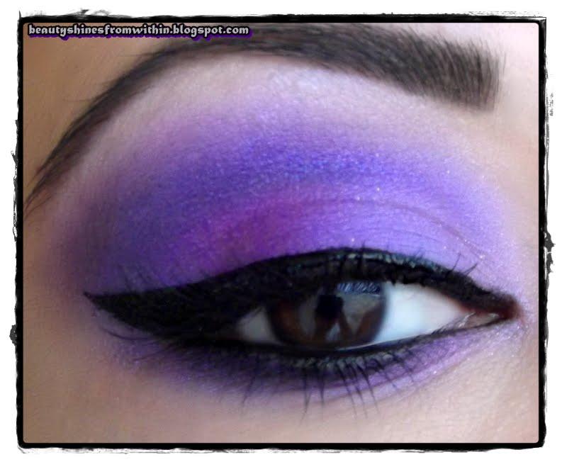 Purple Eyeshadow Ideas Celebrity Image Gallery